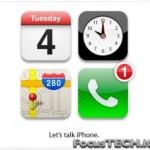 Let's Talk iPhone: LiveBlog della presentazione del nuovo iPhone su FocusTECH.it