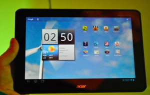 Acer Iconia Tab A700 presentato ufficialmente al CES 2012   acer iconia tab a700 300x191