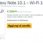 Samsung Galaxy Note 10.1 disponibile ad un prezzo di 529€ su Expansys