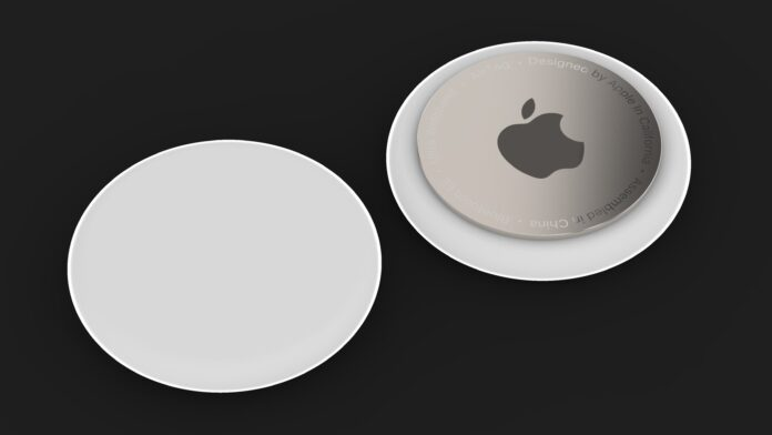 Apple AirTag render