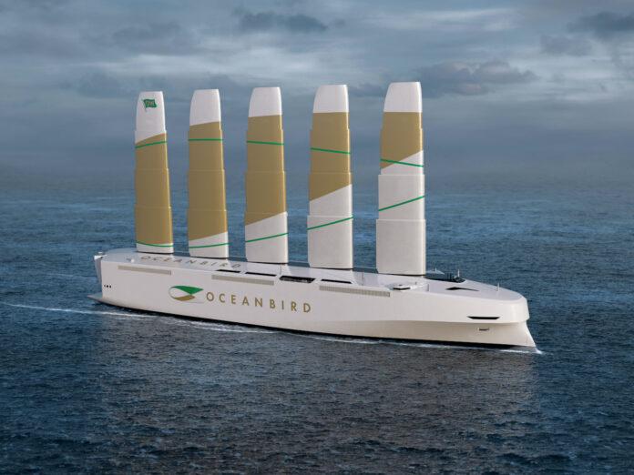 oceanbird. nave cargo, trasporto, eolico, sostenibilità