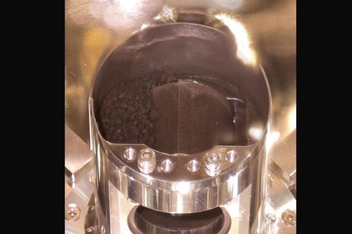 capsula campioni ryugu