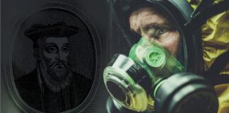 coronavirus, profezie, nostradamus