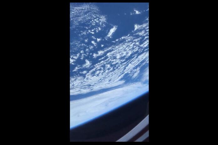 SpaceX, vista della Terra