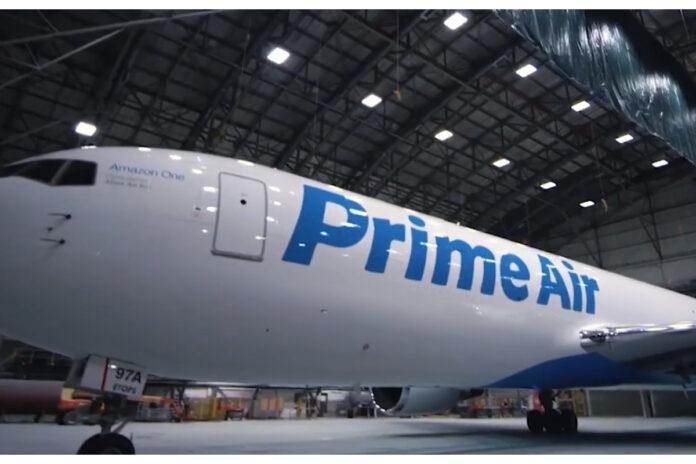 amazon, flotta aerea, prime air
