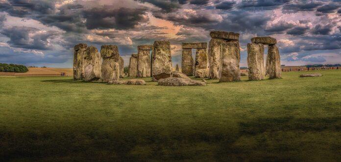 stonehenge, architettura, dolmen, menir