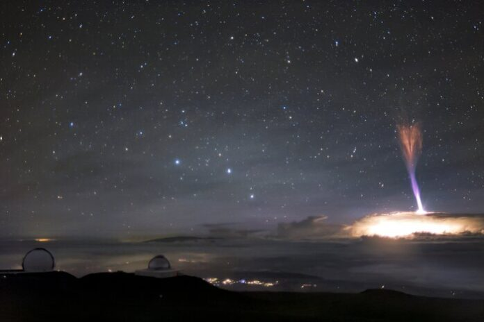 rari fenomeni atmosferici alle Hawaii