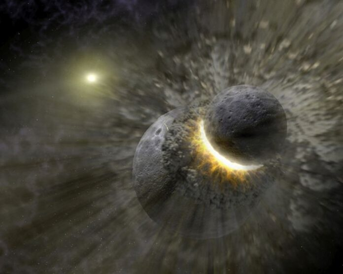 luna nucleo pianeta