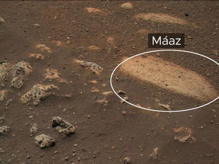 maaz, roccia, marte, NASA, Perseverance, Navajo
