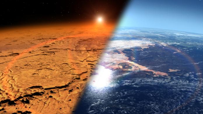 Marte acqua crosta