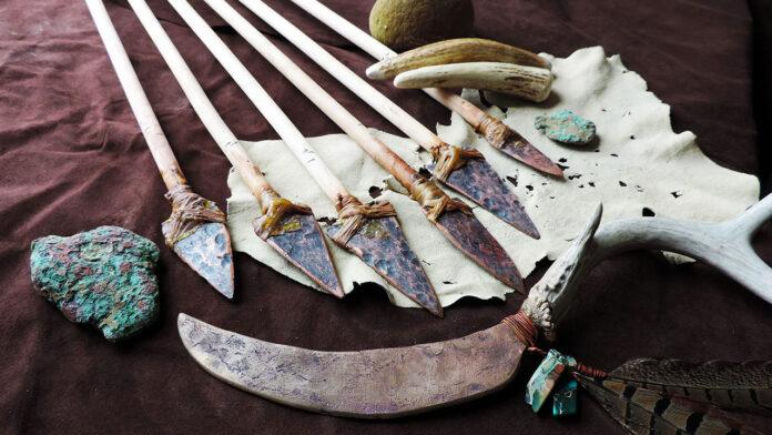 antichi nativi americani, rame