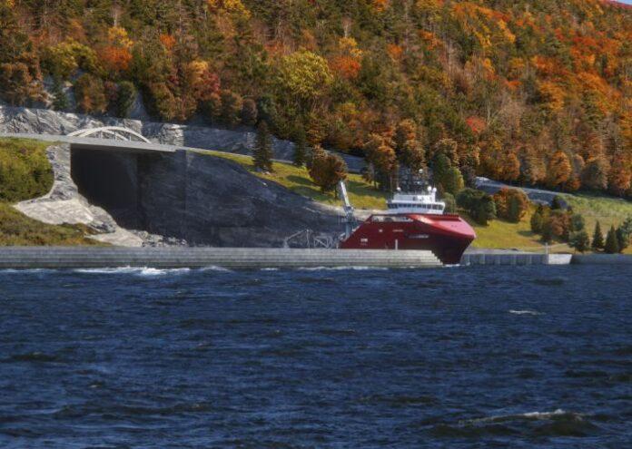 norvegia tunnel navale