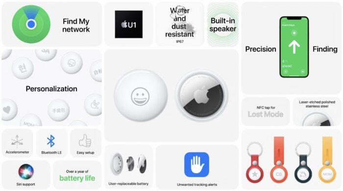 Apple AirTag caratteristiche