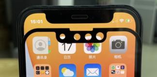 Apple iPhone 13 notch