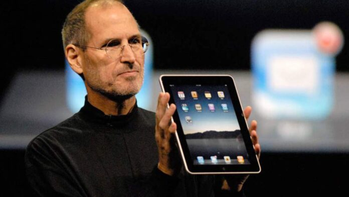 Apple Steve Jobs iPad