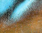 dune blu su Marte