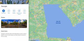 google maps georgia