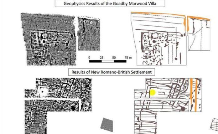 insediamento romano google earth