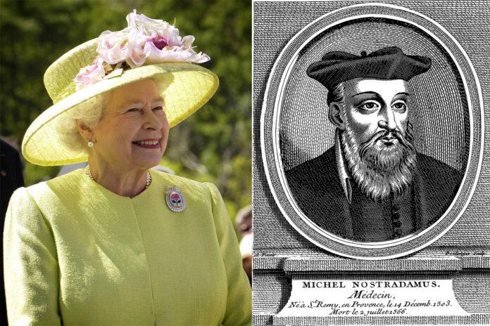 profezia, nostradamus, monarchia inglese
