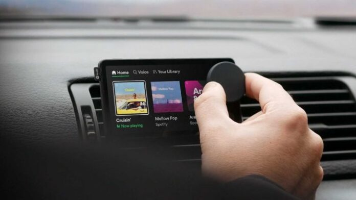 spotify musica car thing