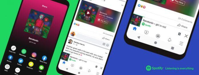 spotify facebook