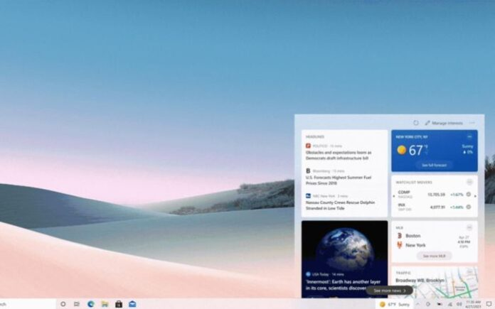 windows 10 meteo news