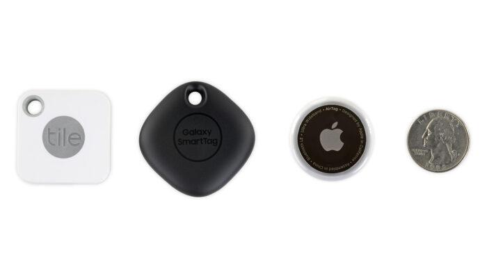 Apple AirTag tracker differenze