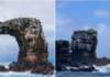 arco di Darwin, Darwin's arch, crollo, erosione