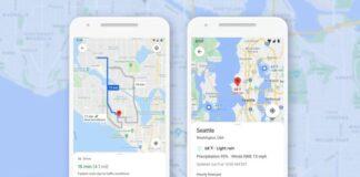 google maps funzioni