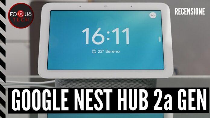 Google Nest Hub 2a generazione