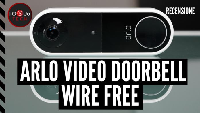 Arlo Video Doorbell Wire Free