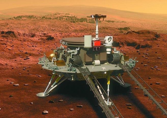 rover cinese su Marte