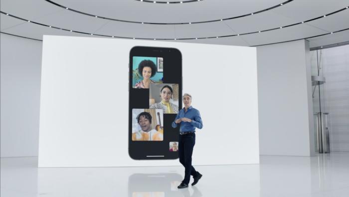Apple iOS 15 FaceTime