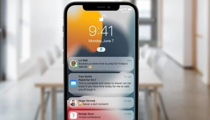 Apple iOS 15 Focus