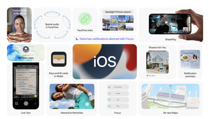 Apple iOS 15 overview