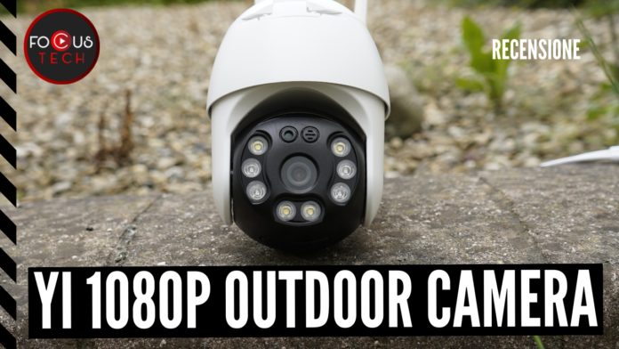 YI 1080P Outdoor PTZ Camera
