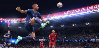 FIFA 22 HyperMotion console