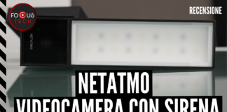 Netatmo Videocamera