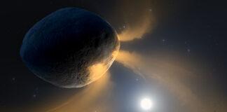 coda simile a una cometa