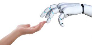 robot linguaggio tattile