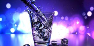 acqua ghiacciata effetti