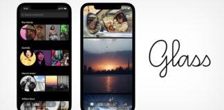 Glass app foto