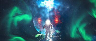 Aurora Boreale stazione spaziale internazionale