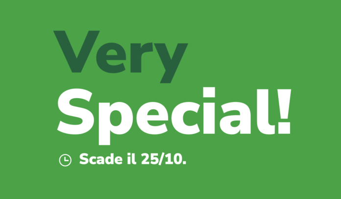 Very Special offerta